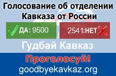 Голосование об отделении Кавказа от России - Гудбай Кавказ